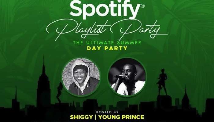 Spotify Playlist Day Party - The Ultimate Summer Day Party