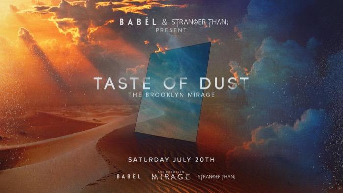 Taste of Dust