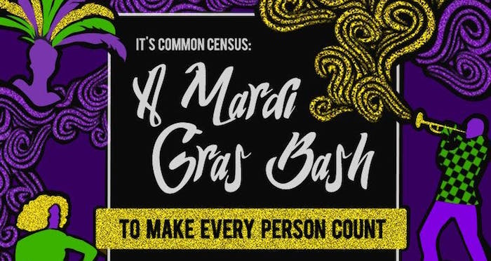 It's Common Census: A Mardi Gras Bash To Make Every Person Count