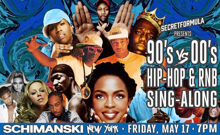 90's vs 00's Hip Hop and RnB Sing-Along