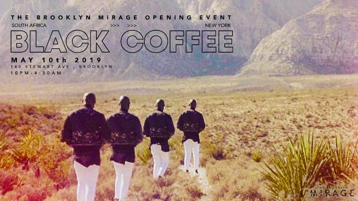 Black Coffee: Brooklyn Mirage Opening Event