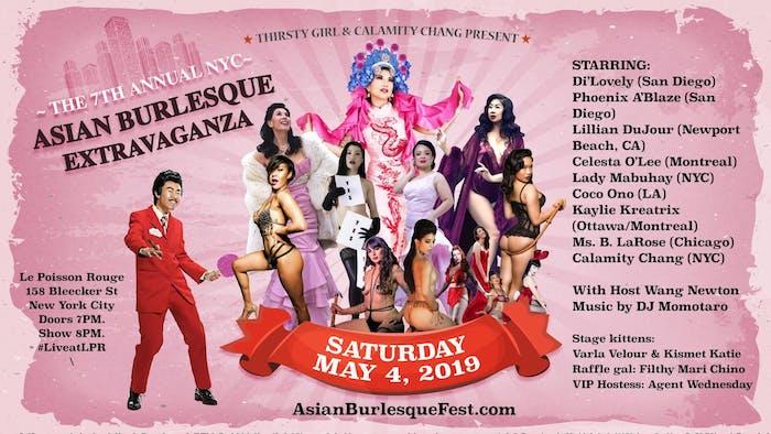 7th Annual Asian Burlesque Extravaganza
