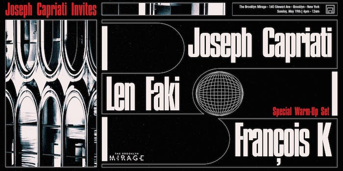 Joseph Capriati, Len Faki, François K
