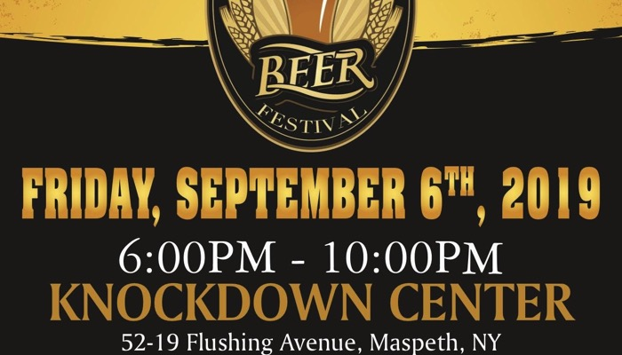 The 4th Annual Maspeth Craft Beer Festival