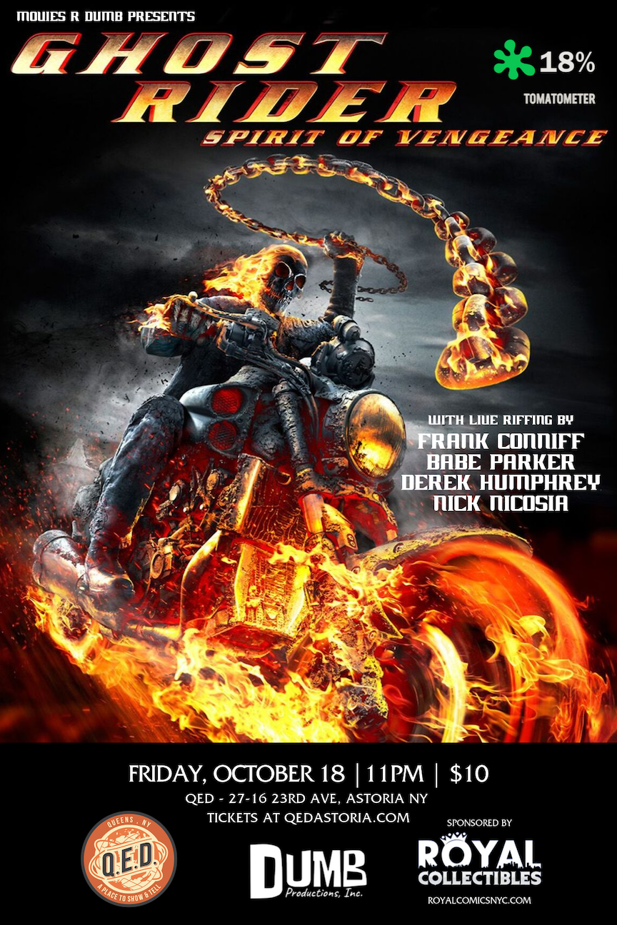Movies R Dumb Presents Ghost Rider: Spirit of Vengeance